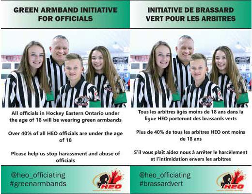 HEO Green Armband Initiative